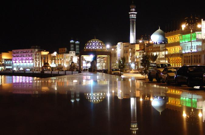 DIAMONDS IN THE ARABIAN SKY…MUSCAT BY NIGHT.